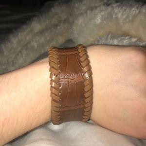 Jewelry - Authentic Alligator Skin Cuff