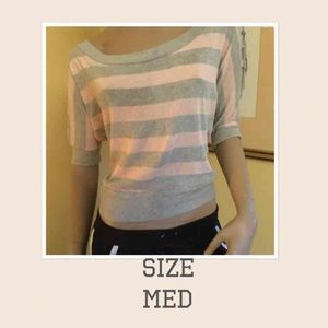 Soft Pink & Grey Sweater by rue21