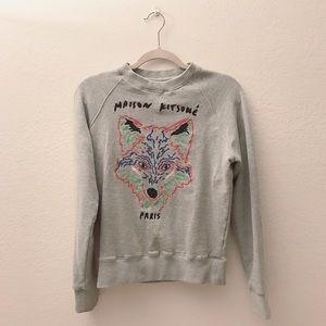 MAISON KITSUNE Sweaters - Maison Kitsune Fox Crewneck 😻😻😻