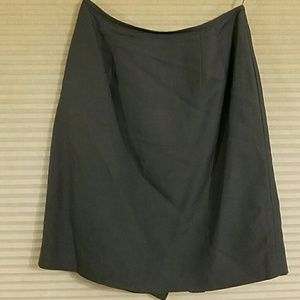 Morgan Taylor Studio Skirts - Beautiful Blue Linen Skirt