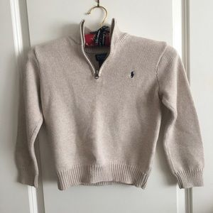 Boys Polo Sweater