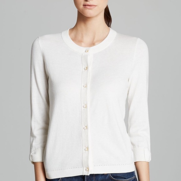 75% off kate spade Sweaters - Kate Spade Bow Sleeve Off White ...