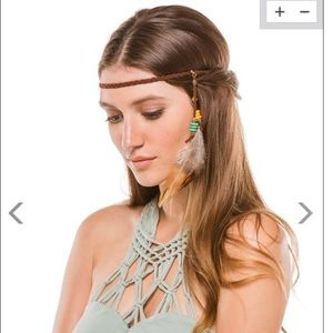 Cara Couture Accessories - Headband/necklace NWT one size boho