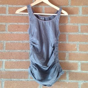BeMaternity Tops - Be maternity ruched tank top