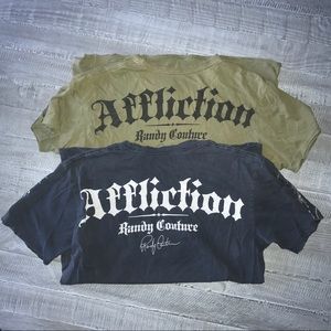 Affliction Other - MENS SET OF TWO Affliction T-Shirts