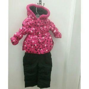 Pink Platinum  Other - Pink Platinum Toddler Girls Snowsuit