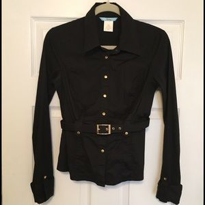 Guess by Marciano Tops - Guess Marciano Black Dress Shirt