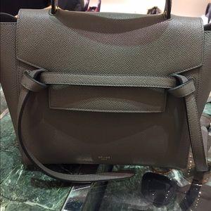 Celine Handbags - Celine Micro belt Bag Gray, Cloudy, White Colors