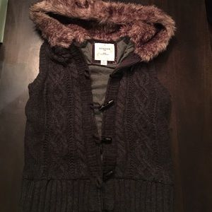 Heritage Jackets & Blazers - Heritage Vest with Faux Fur Trim