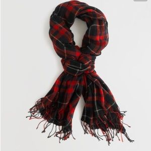 Madewell Accessories - Madewell Plaid Blanket Scarf