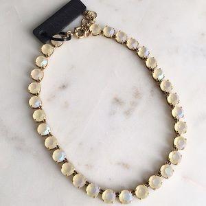 LAST ONE❗️J.Crew matte crystal necklace