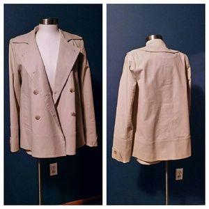 Calvin Klein ivory jacket