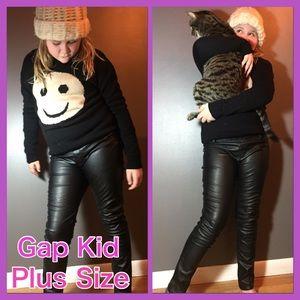 4c6cd499d9b8f Gap Kids Bottoms - 💥ONE DAY💥Gap Kids 1969 Faux Leather Leggings💥