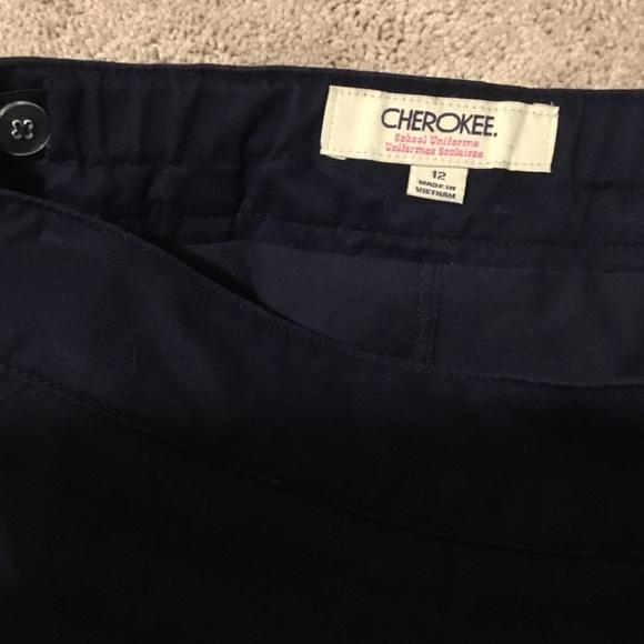 Cherokee Bottoms - Cherokee navy uniform skort
