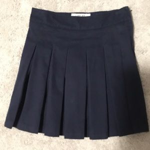 Cherokee navy uniform skort