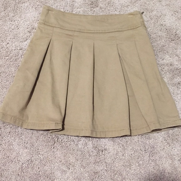 Children's Place Bottoms - Children's Place khaki uniform skort