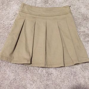 Children's Place khaki uniform skort