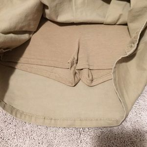 Children's Place Bottoms - Children's Place khaki uniform skort
