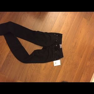 One Teaspoon black skinny jeans (loonies)