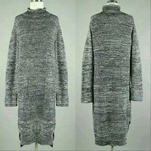 Dresses & Skirts - Drop Waist Knit Sweater Dress