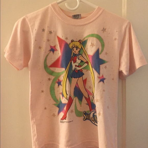 f35fbb3d983 funstuff nyc Tops - Vintage 90s Sailor Moon Youth Shirt!🌙