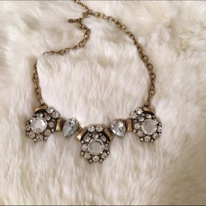 Gorgeous J Crew crystal statement necklace