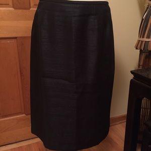 Kasper Dresses & Skirts - BEAUTIFUL KASPER black lined skirt