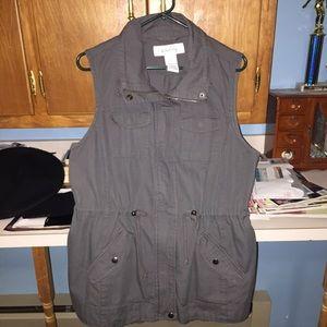 Sebby Jackets & Blazers - Preppy Grey Vest