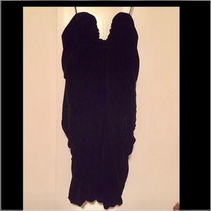 ABS velvet dress