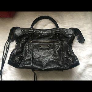Balenciaga Handbags - Balenciaga city medium classic studs lambskin bag