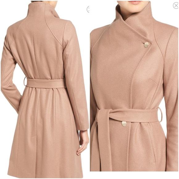 f360d3eb3 NWOT Ted Baker London Wrap Coat Size 3. M 5875b008c28456f1f618dba9