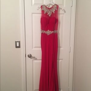Dresses & Skirts - red sweetheart prom dress