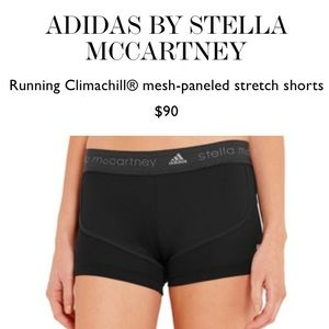 Adidas by Stella McCartney Pants - ADIDAS BY STELLA MCCARTNEY ATHLETIC SHORTS SMALL S