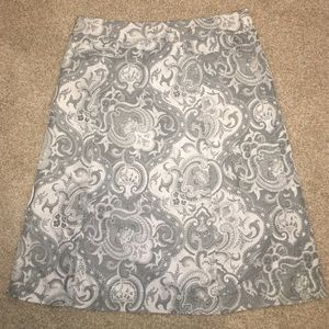 Express Dresses & Skirts - New Express Jacquard A-Line Skirt Size 8