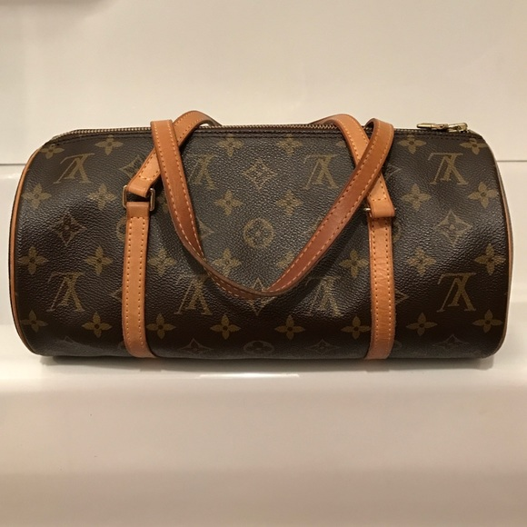 Louis Vuitton signature pattern barrel handbag 115e74aca0221
