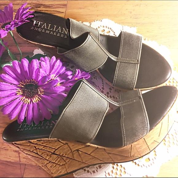 bf780af41862 Italian Shoemakers Womens Mystic Wedge Sandal. M 5875bab14e95a3fc50193a8c
