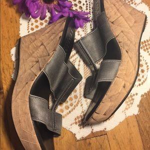 8186d3977d83 Shoes - Italian Shoemakers Womens Mystic Wedge Sandal