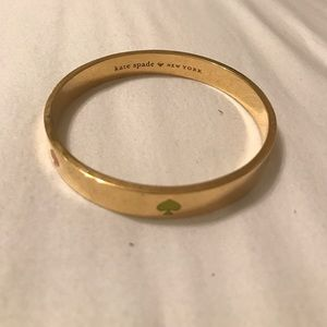 Kate Spade gold spades bracelet