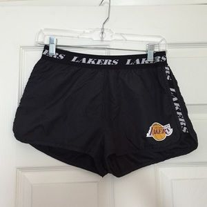LAKERS Athletic Shorts Size SMALL S
