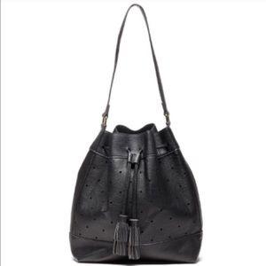 Sole Society Handbags - Sole Society Perforated Bucket Bag