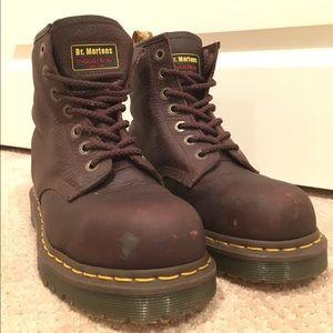 Doc martens industrial boots (steel toe)