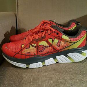 a60fabbeccda Hoka Shoes - HOKA ONE ONE PRAC MEN S INFINITE POPPY RED