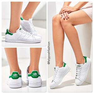 Adidas Shoes - Adidas Stan Smith Debossed Polka Dot Sneakers