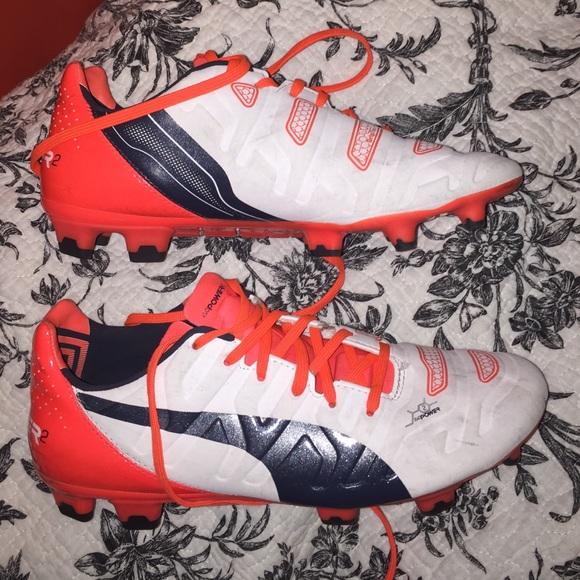 Puma Shoes - Puma Evo Power 2 Soccer Cleats 0bffee643