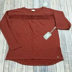Element eden long sleeve shirt