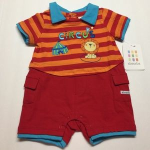Absorba Other - Circus infant romper