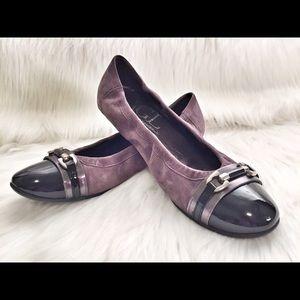 Attilio Giusti Leombruni Shoes - AGL Attilio Giusti Leombruni Cap Toe Ballet Flats