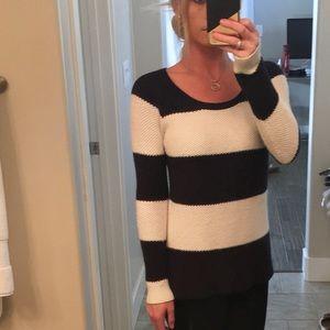 Splendid Navy Striped Sweater