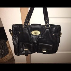 Mulberry for Target Black Leather Handbag