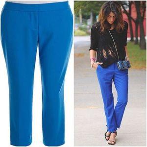 Vince Camuto Blue Plus Size Career Pants